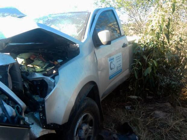 Ultrapassagem proibida pode ter causado acidente (Foto: Divulgação/Polícia Rodoviária Federal)
