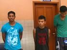 Quadrilha de Macapá é presa suspeita de roubos em Santarém, PA