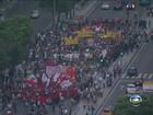 Novo ato contra reajuste de tarifa de ônibus fecha vias no Centro do Rio