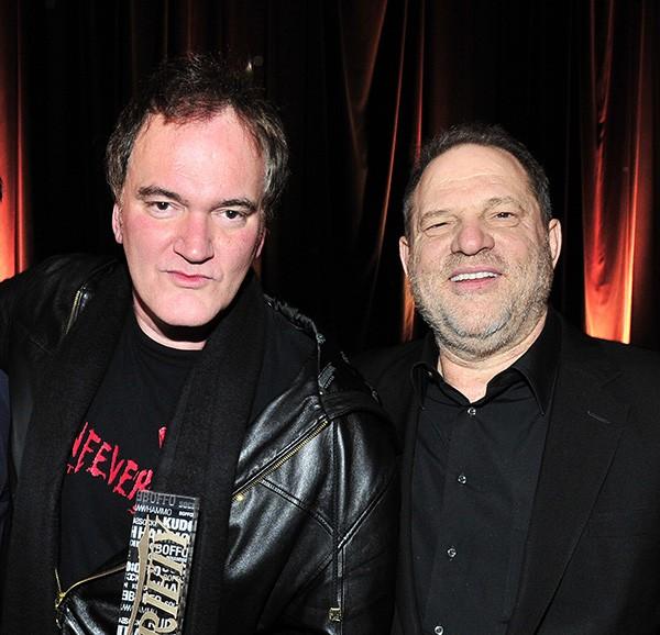 Quentin Tarantino e Harvey Weinstein (Foto: Getty Images)