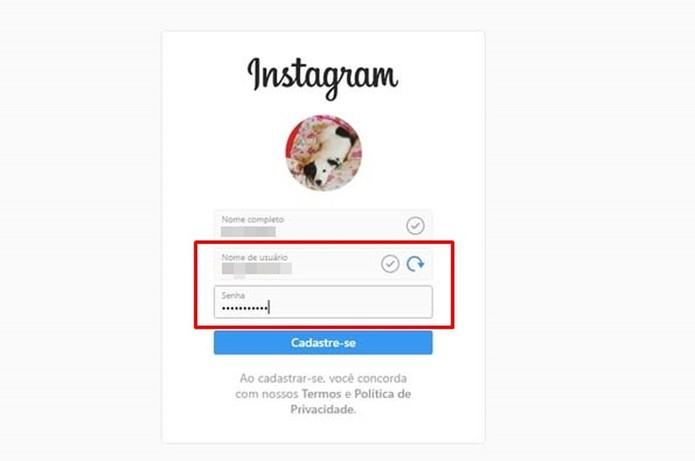 instagram (Foto: Taysa Coelho)