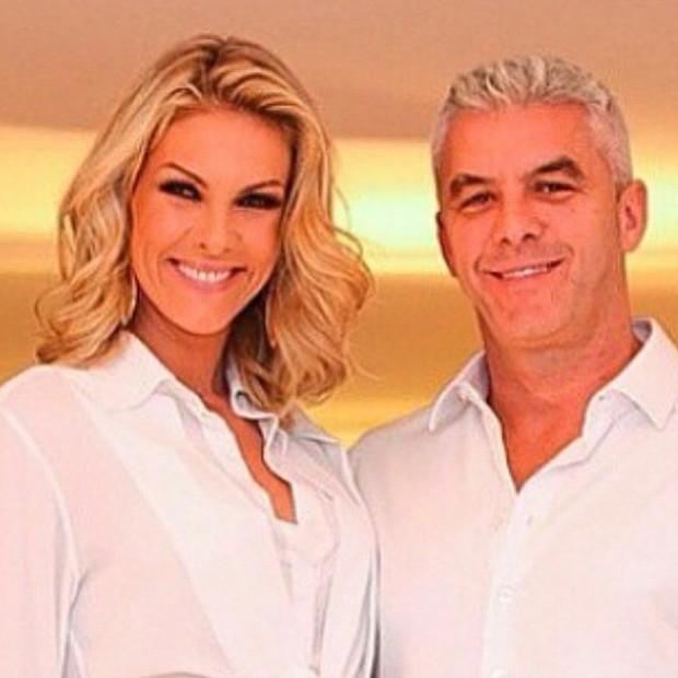 Ana Hickmann e o marido, Alexandre (Foto: Reprodução/Instagram)