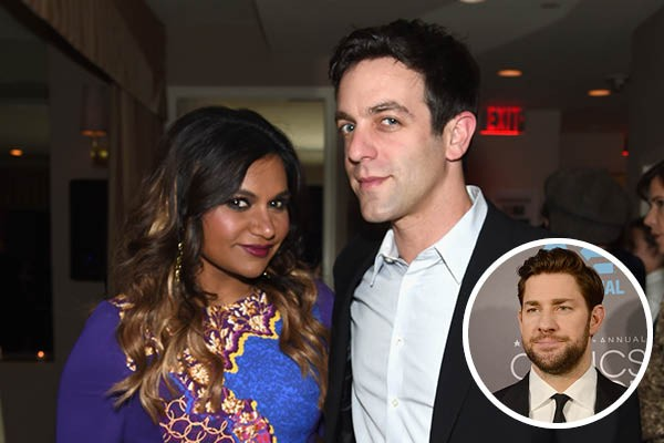Mindy Kaling, BJ Novak e John Krasinski (Foto: Getty Images)