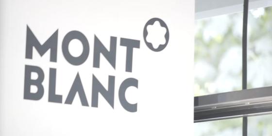 A empresa alemã Montblanc de artigos cotidianos de luxo (Foto: Reprodução/ Youtube)