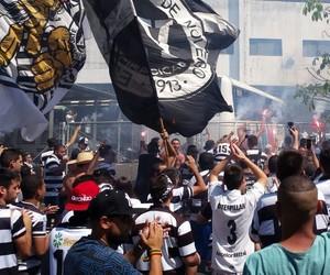 Torcida XV de Piracicaba, final Copa Paulista, XV de Piracicaba x Ferroviária (Foto: Guto Marchiori)