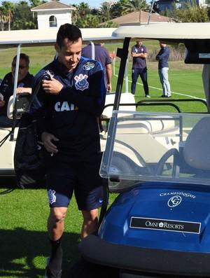 Rodriguinho treino Corinthians EUA (Foto: Marcelo Braga)