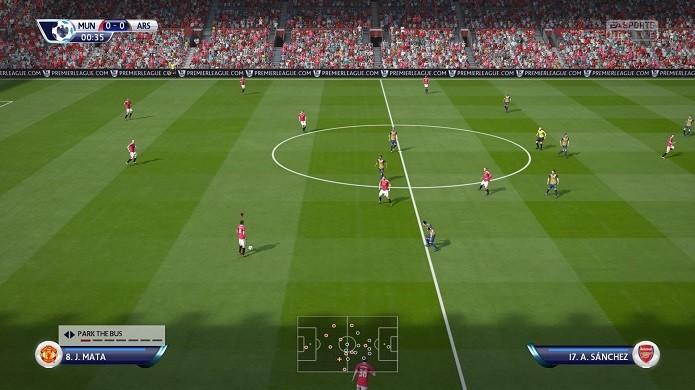 Edição tática no meio do jogo é importante no game (Foto: Reprodução/TechTudo)