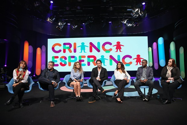 Debate do Criança Esperança (Foto: Manuela Scarpa/Brazil News)