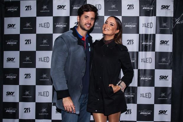 Claudia Leitte e Marcio (Foto: Manuela Scarpa/ Foto Rio News)