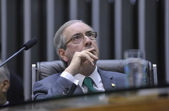 O presidente da Câmara, Eduardo Cunha (Foto: Alex Ferreira / Câmara dos Deputados)
