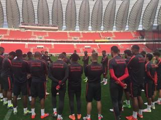 Inter, treino, Beira-Rio (Foto: Divulgação / Internacional)