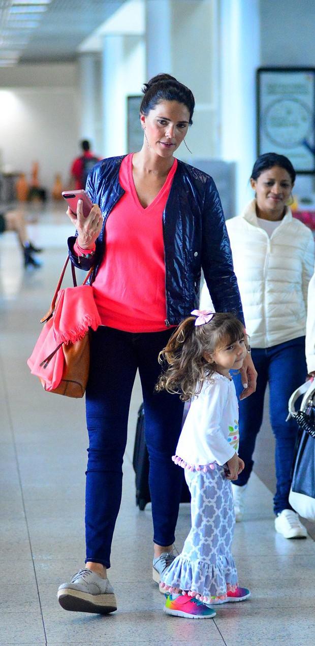 Daniella Sarahyba e a filha caçula, Rafaella (Foto: Willian Oda/ Agnews)