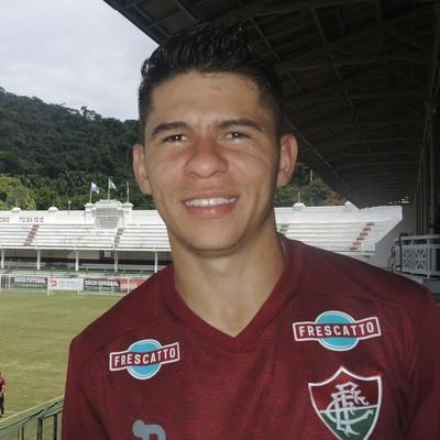 Osvaldo, Fluminense (Foto: Fred Huber)