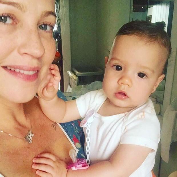 Luana Piovani e Liz (Foto: Reprodução/Instagram)