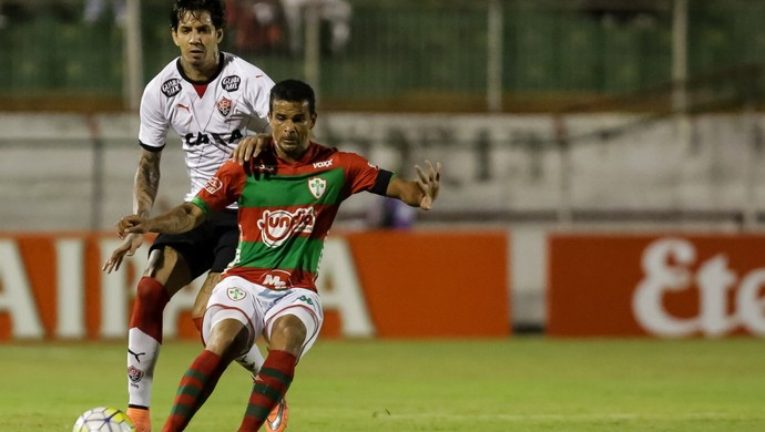 Portuguesa x Vitória Copa do Brasil (Foto: Rodrigo Gazzanel/Futura Press)