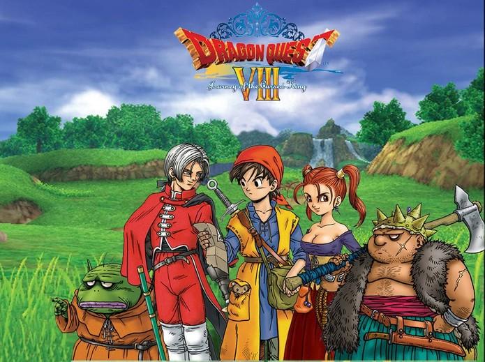 Dragon Quest 8  (Foto: Divulgação)