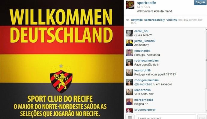 Alemanha - Sport (Foto: Reprodução/Internet)