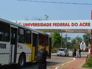 Ufac (Foto: Quésia Melo/G1)