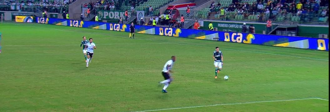Palmeiras x América-MG - Copa do Brasil 2018 - globoesporte.com ebcd3766c2334