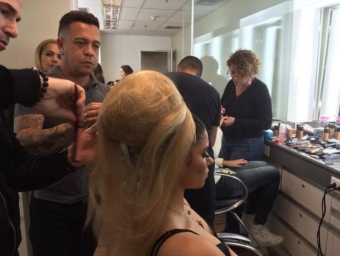 Ana Paula Guedes estará em truque de Bruno Garcia (Foto: Aline Nunes/Gshow)