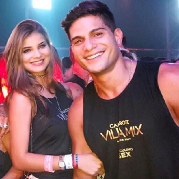Gabriela Salles e André Martinelli durante o Carnaval de Salvador (Foto: Reprodução/Instagram)