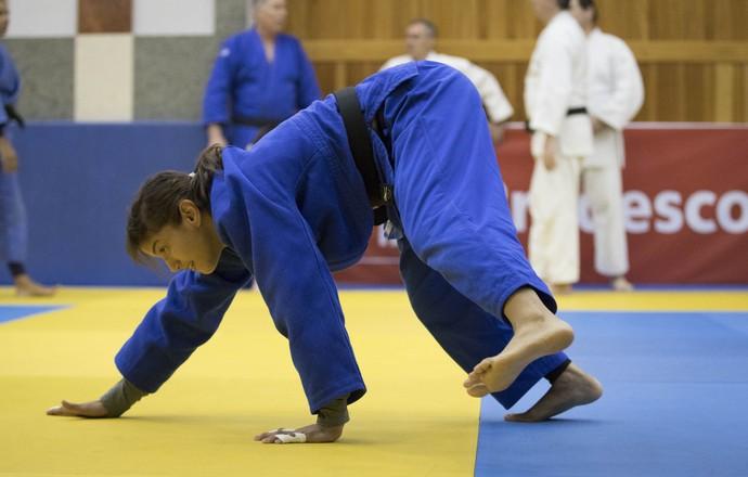 Sarah Menezes treino seleção judô Mangaratiba (Foto: Marcio Rodrigues/MPIX/CBJ)
