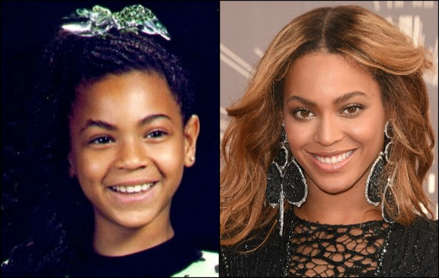 Quem diria que essa linda menininha se tornaria um dos nomes mais poderosos (e sensuais!) do pop? Beyoncé hoje está com 33 anos e botando pra quebrar. (Foto: Instagram e Getty Images)