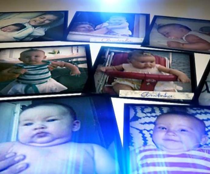 A fofura never ends... Olha que delicinha Claudia Leitte bebê! (Foto: TV Globo / Caldeirão do Huck)