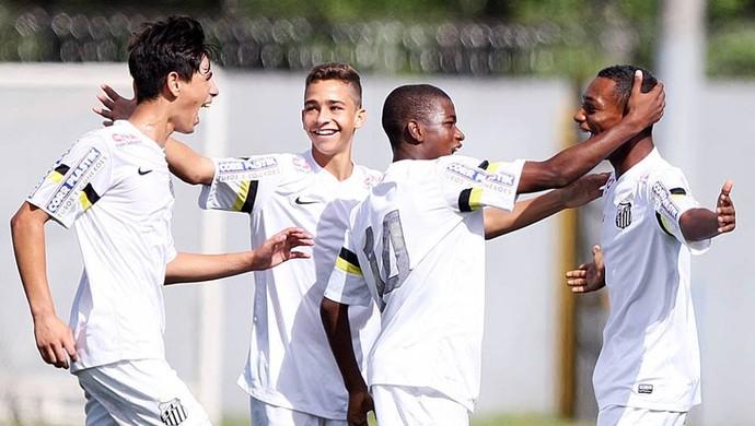 Santos sub-15 (Foto: Pedro Ernesto Guerra Azevedo / Divulgação Santos FC)