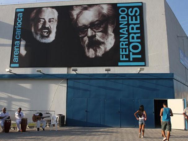 Arena Carioca Fernando Torres homenageia um dos maiores ícones do teatro brasileiro (Foto: Rafael Moraes)