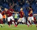 El Shaarawy faz gol de calcanhar na estreia e garante vitória do Roma