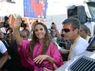 Ivete Sangalo levanta a galera em seu primeiro dia de carnaval na Bahia