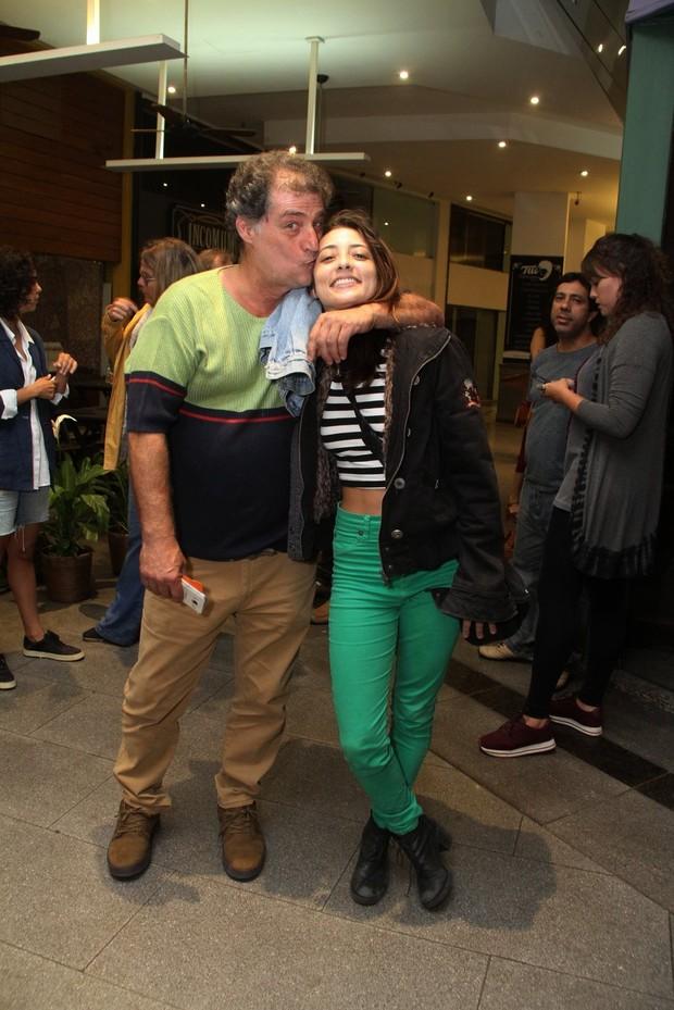 Giuseppe Oristanio e Julia Oristanio (Foto: Thyago Andrade/ Brazil News)