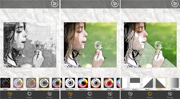 Sketch me! é um editor de imagens que transforma suas fotos em desenhos (Foto: Reprodução/Windows Phone Store)