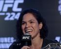 """Amanda Nunes: """"Nas duas lutas que fiz no Brasil, venci. Nessa não será diferente"""""""