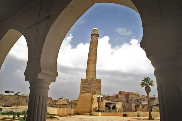 Country: IraqSite: al-Hadba`Minaret, MosulCaption: The minaret seen from the mosque. In the foreground houses of the old city of Mosul.Image Date: April 2009Photographer: Mosab Mohammed JaseemProvenance: 2010 Watch NominationOriginal: email from Ale (Foto: Divulgação)