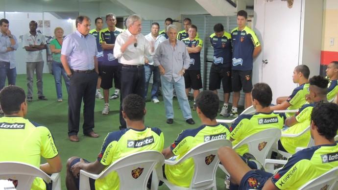 Reapresentação Sport (Foto: Elton de Castro)