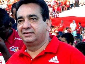 Marcos Barbosa, Presidente do CRB (Foto: Ascom CRB)