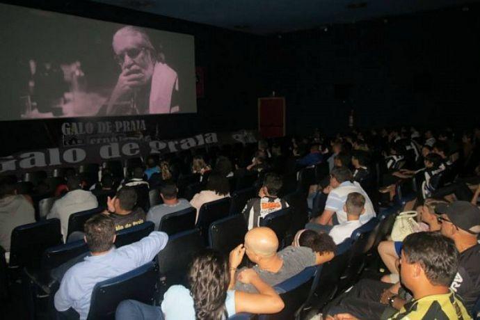 Torcida do Atlético-MG lota sala de cinema no ES para ver filme do Galo (Foto: Divulgação)