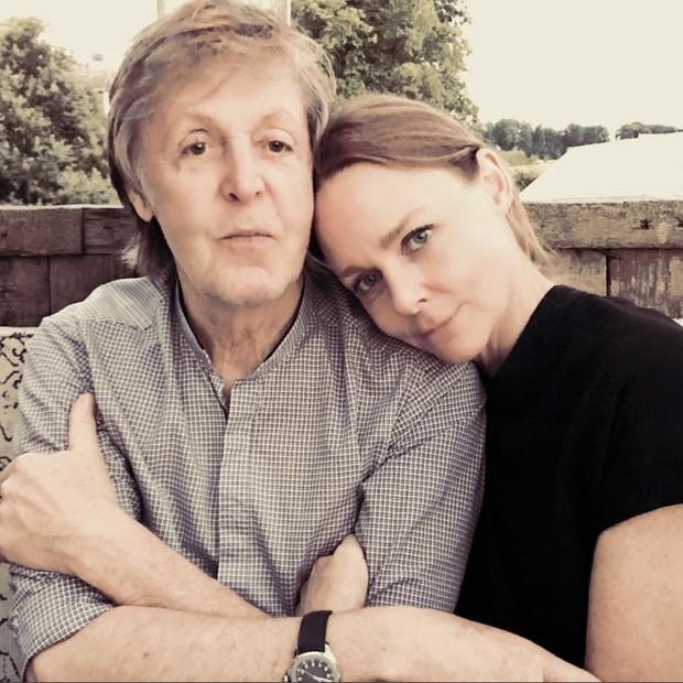 Paul e Stella McCartney (Foto: Reprodução/Instagram)