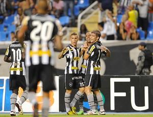 Julio Cesar gol Botafogo x Quissamã (Foto: Fabio Castro / AGIF)