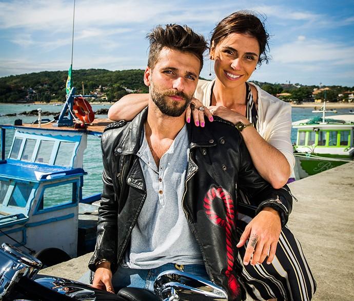 Mario e Alice formarão um casal em 'Sol Nascente' (Foto: TV Globo / João Miguel Júnior)