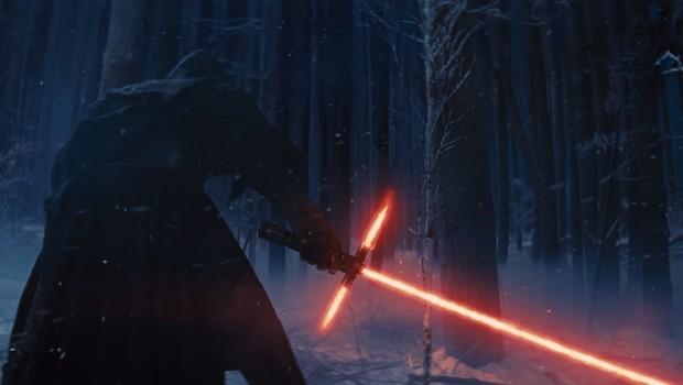 """Kylo Ren, personagem de """"Star Wars: O Despertar da Força"""", em cena divulgada no teaser do filme (Foto: Divulgação)"""