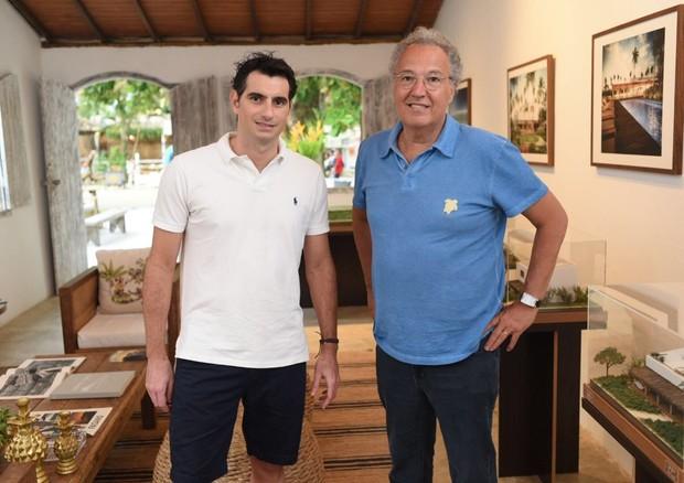 Fred Schiliró e Nizan Guanaes (Foto: Divulgação)