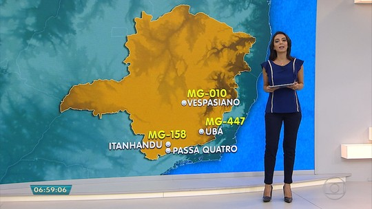 Seis novos radares entram em operação nesta terça em Minas Gerais
