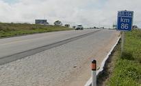 Homem morre em acidente na BR-104 em Agrestina, no Agreste (Reprodução/TV Asa Branca)