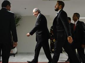 o presidente da Câmara, Eduardo Cunha, no Supremo Tribunal Federal (Foto: Antônio Cruz/Agência Brasil)