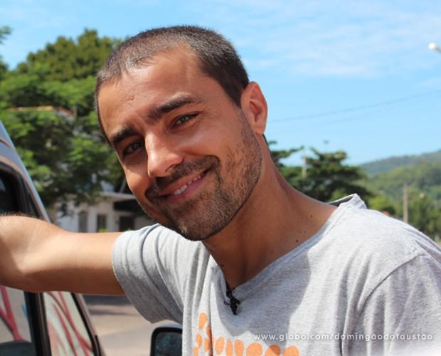 Ricardo Pereira (Foto: Domingão do Faustão / TV Globo)