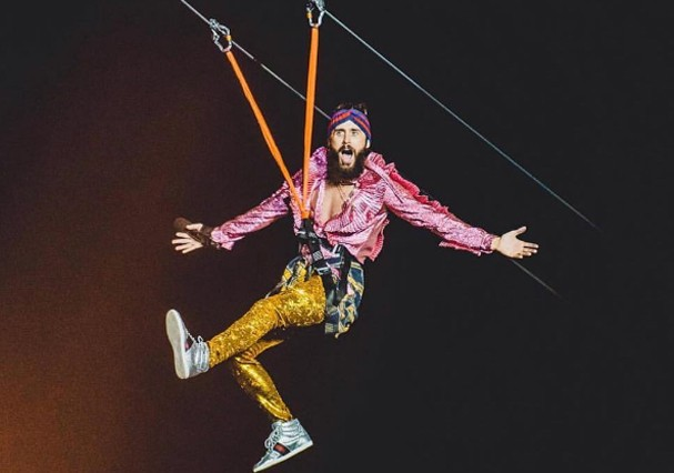 Jared Leto no Rock in Rio (Foto: Wesley Allen/I Hate Flash)