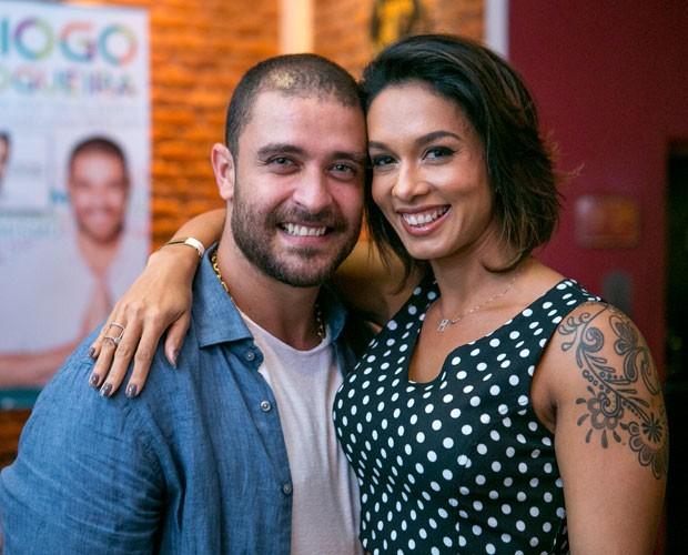 Diogo Nogueira lança novo disco com a presença da esposa Milena (Foto: Isabella Pinheiro/Gshow)
